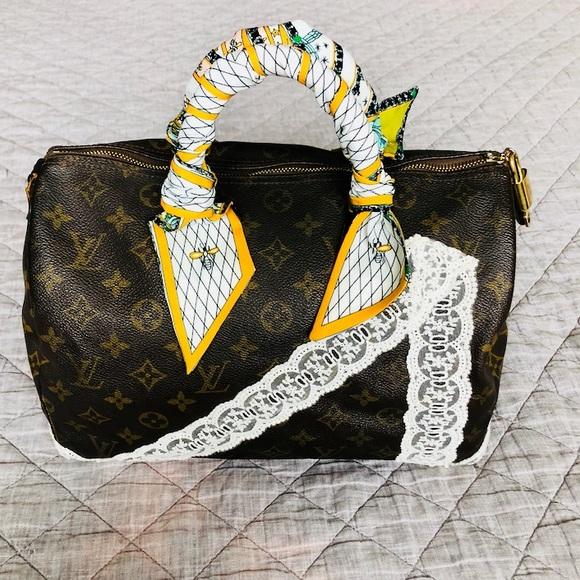 70b54488f372 Louis Vuitton Handbags - Louis Vuitton Speedy 30 Vintage Refurbished Custom